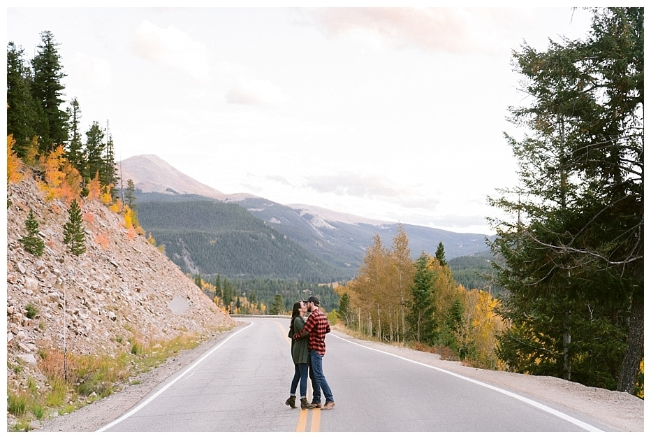 Breckenridge Colorado Engagement Session / Allison + James