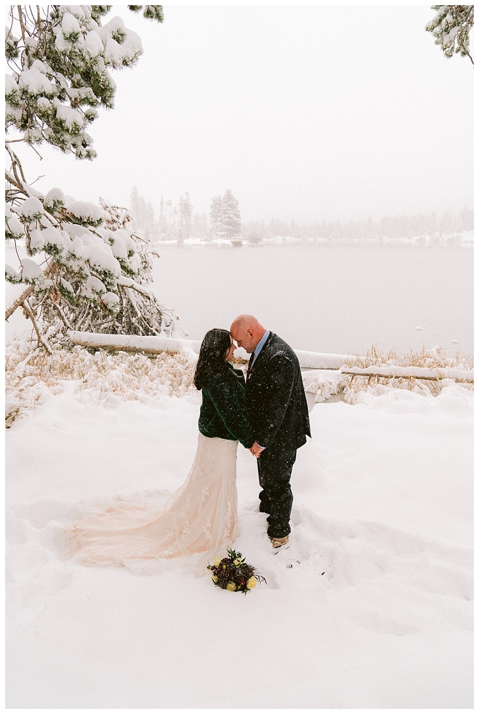 Sprague Lake Elopement in Rocky Mountain National Park // Nikki + Colby