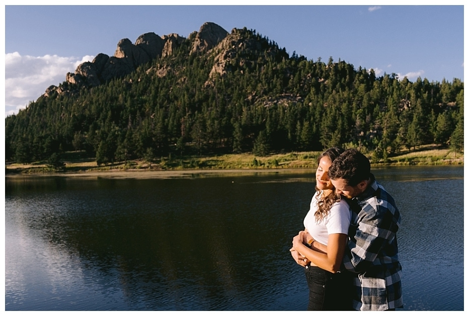 Rocky Mountain National Park Engagement Session// Evelynn + Tyler