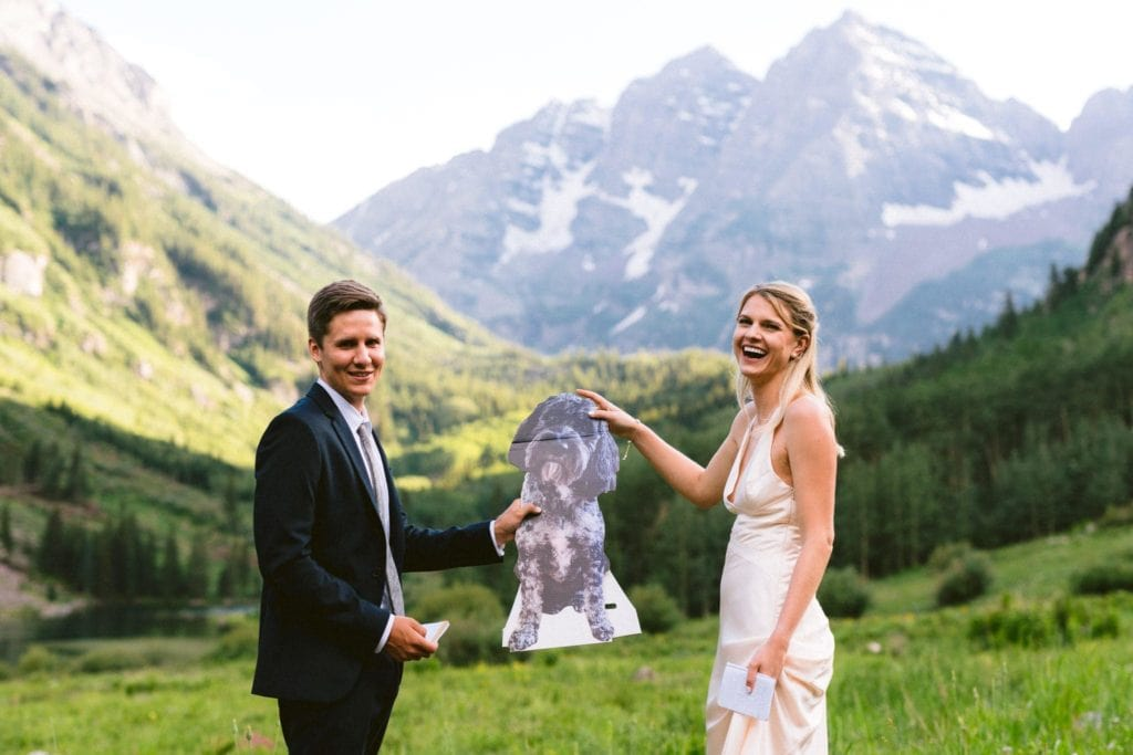 maroon bells summer elopement